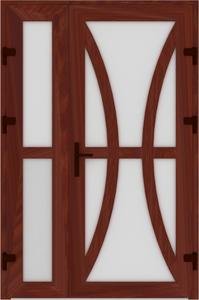 DR02 03 199x300 - Входные двери ПВХ