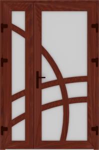 DR02 09 198x300 - Входные двери ПВХ