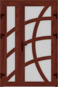 DR02 10 199x300 - Входные двери ПВХ