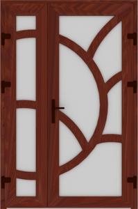 DR02 38 199x300 - Входные двери ПВХ