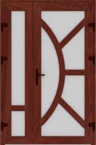DR02 52 199x300 - Входные двери ПВХ