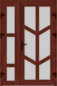 DR02 53 199x300 - Входные двери ПВХ