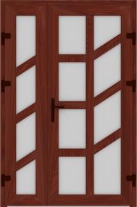 DR02 55 199x300 - Входные двери ПВХ