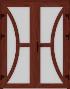 DR03 07 237x300 - Входные двери ПВХ