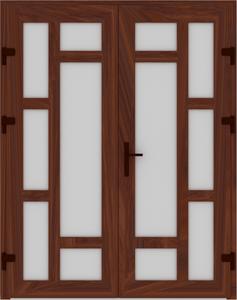 DR03 23 237x300 - Входные двери ПВХ