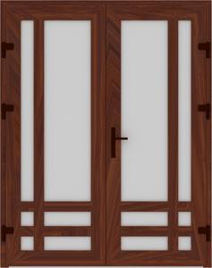 DR03 25 237x300 - Входные двери ПВХ