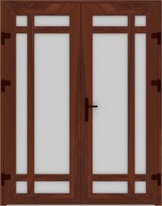 DR03 26 237x300 - Входные двери ПВХ