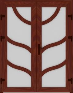 DR03 29 237x300 - Входные двери ПВХ
