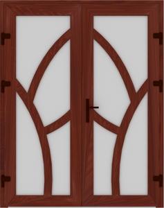 DR03 51 237x300 - Входные двери ПВХ