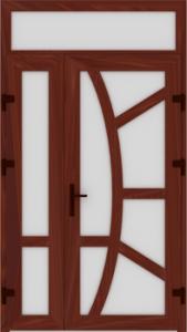 DR04 60 169x300 - Входные двери ПВХ
