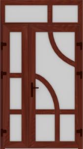 DR04 61 169x300 - Входные двери ПВХ