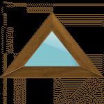 Нестандартні трикутні вікна