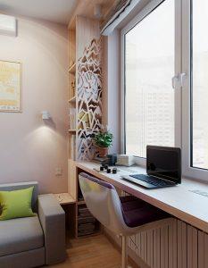 okno kak rabochaya zona 233x300 - Вікно як робоча зона: особливості конструкції
