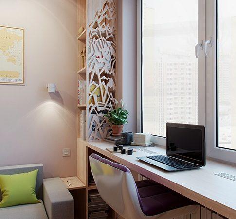okno kak rabochaya zona 485x450 - Окно как рабочая зона: особенности конструкции